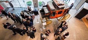 Evening reception at Wells Fargo Museum