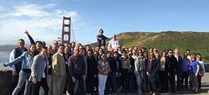 Visit to the iconic Golden Gate Bridge, San Francisco