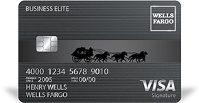 Business Elite Signature Credit Card - Elite Pay Card from Wells Fargo