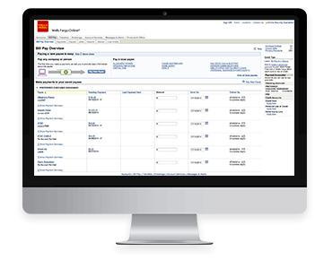 Bill Pay Online And Mobile Tour Wells Fargo