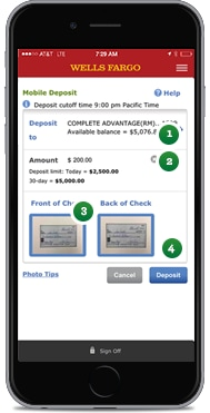 Wells Fargo Mobile Deposit Related Keywords & Suggestions
