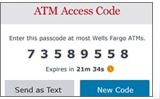 Card-Free Access at Wells Fargo