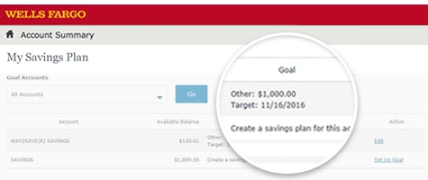 My Savings Plan Online Tools Wells Fargo