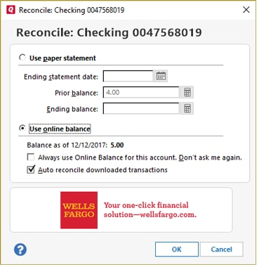 Quicken Bill Pay and Banking – Online Bill Payment – Wells Fargo