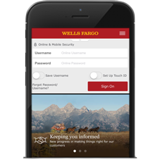 Mobile Banking - Online and Mobile Tour - Wells Fargo