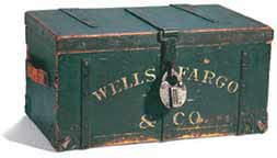 Wells Fargo Treasure Box