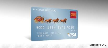 change debit card design wells fargo