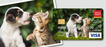 Custom Debit Card Designs: Request Today  Wells Fargo