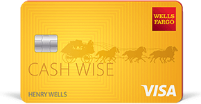 Wells Fargo Cash Wise Visa Card details