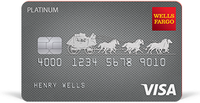 Wells Fargo Platinum Card details