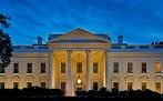 White House at dusk